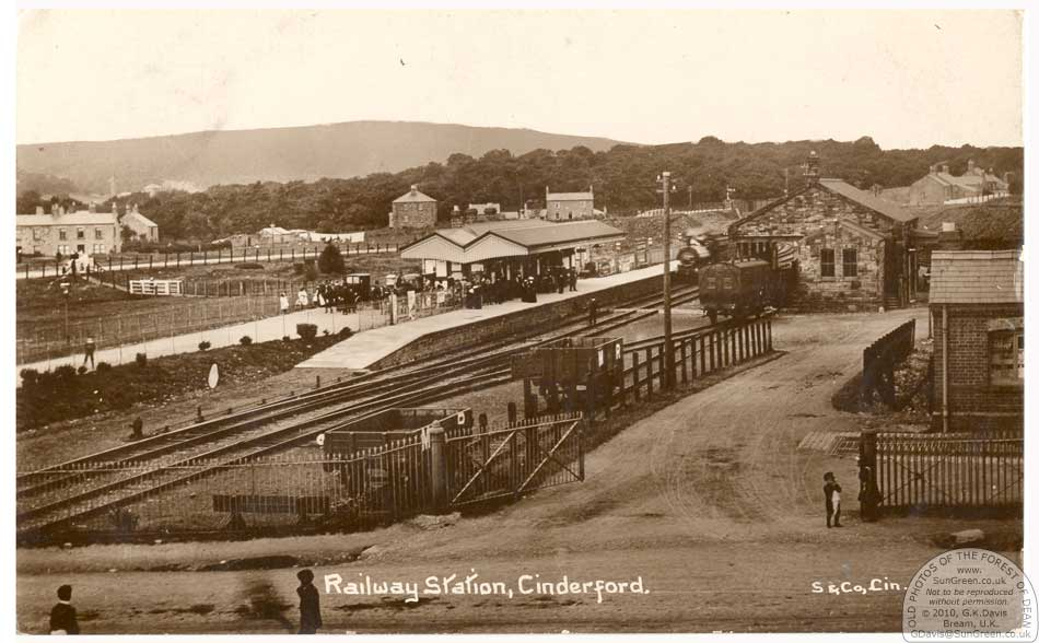 Old Photos of Cinderford and district - Cinderford Station