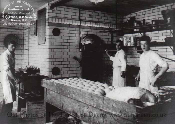 Three bakers in coleford bakery c 1920 for Classic house bakery