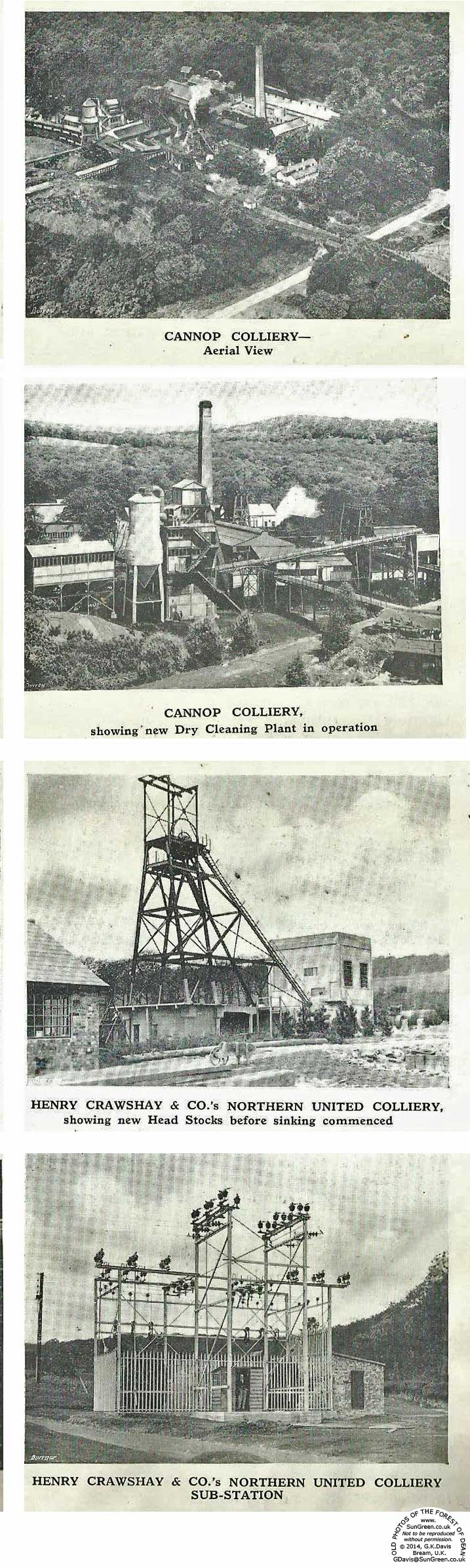 Forest of Dean Collieries, Northern and Cannop