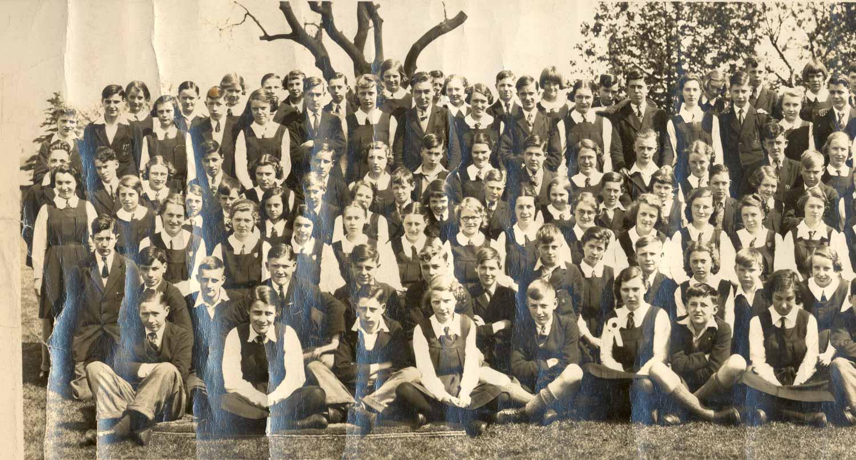 Bob Bowen Ford >> Lydney Grammar School pupils in 1939 - part 1