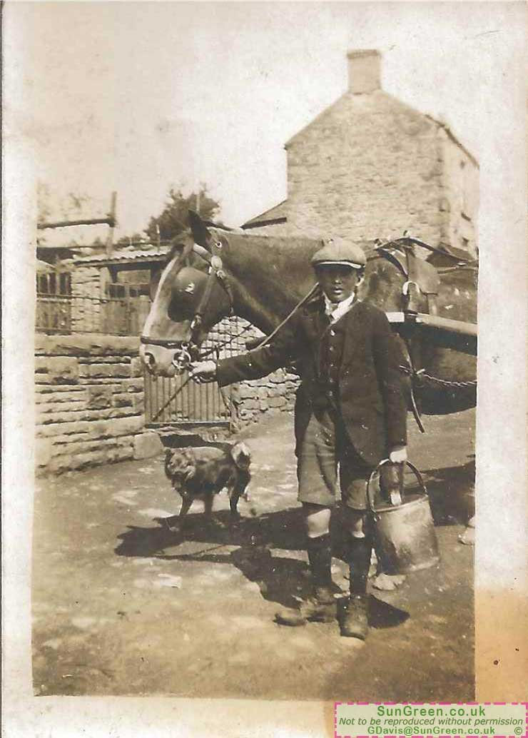 An old photo that may have been taken in St Briavels