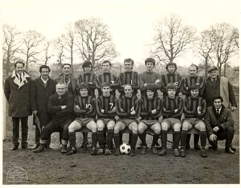 Old Photos of Lydney and district - Viney Hill FC