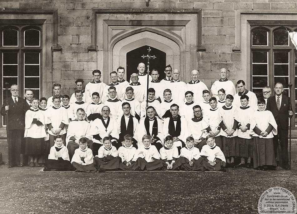 Lydney - St Marys Church Choir in the early 1950s